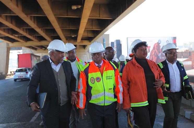 Joburg M1 bridge
