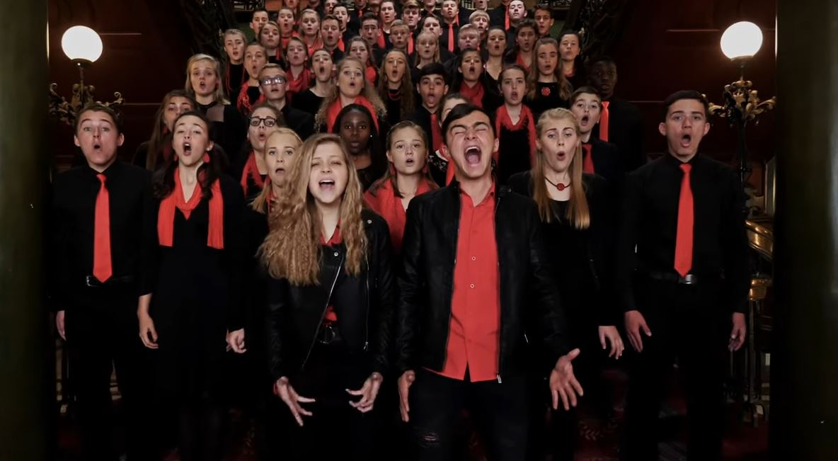 Rustenburg High School choir