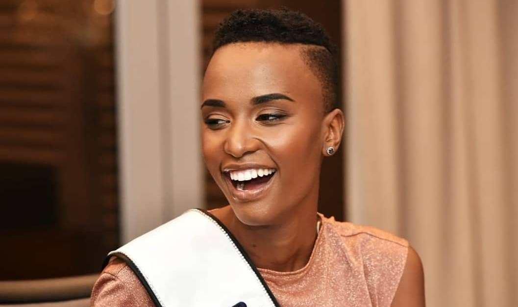 Miss SA Zozibini Tunzi