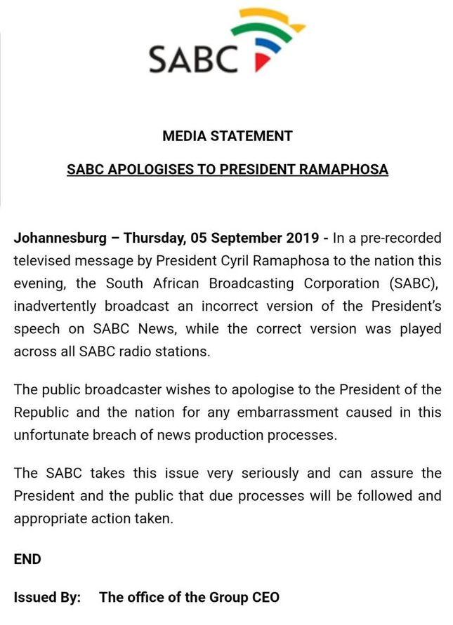 SABC ramaphosa