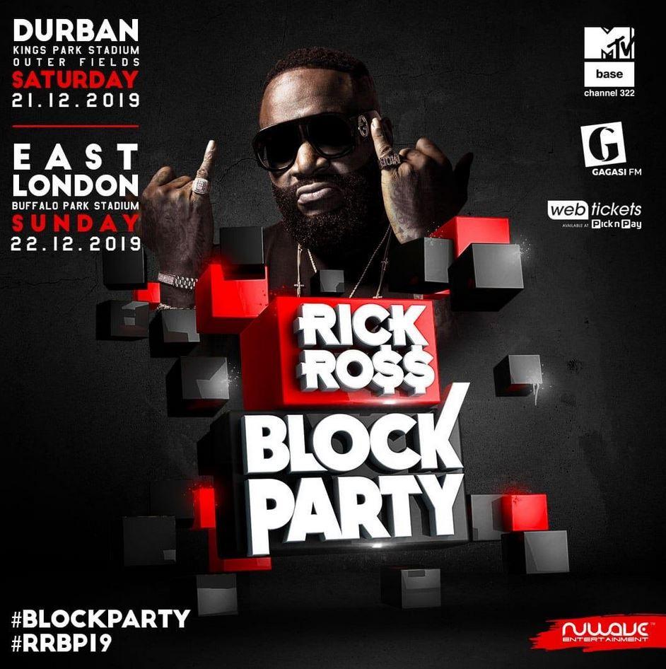 Rick Ross Block Party