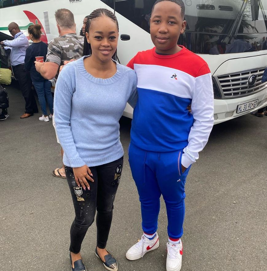 Julius Malema Wife and Son