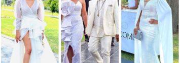 Somizi Mohale White Wedding Photos