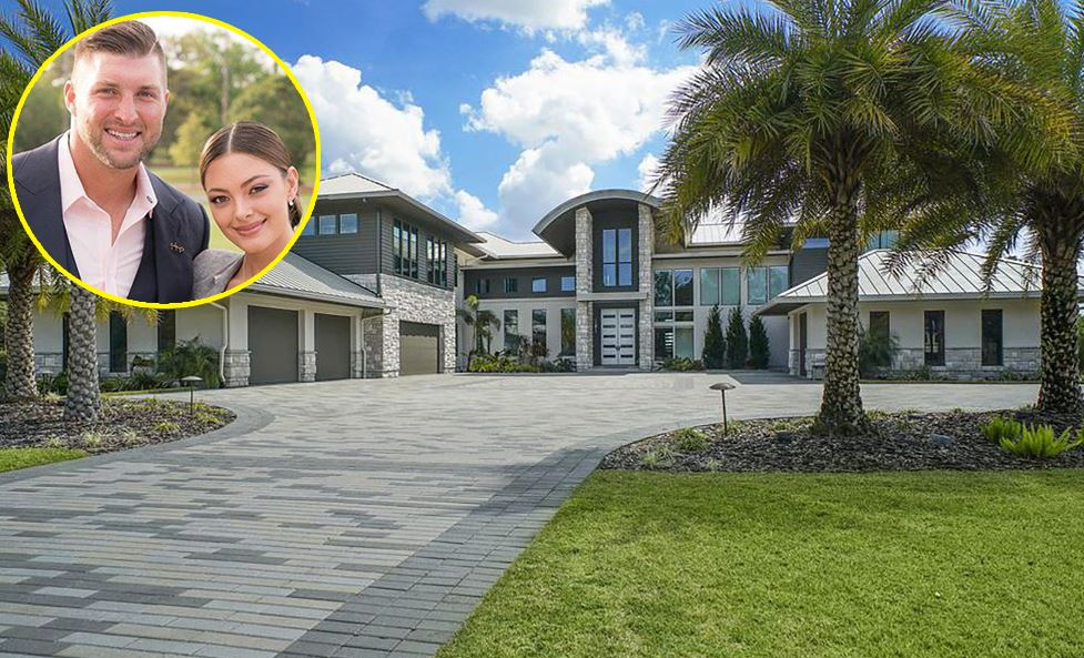 Demi Leigh Tim Tebow house