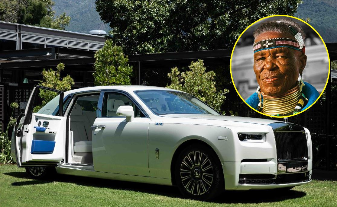 Esther Mahlangu Rolls Royce