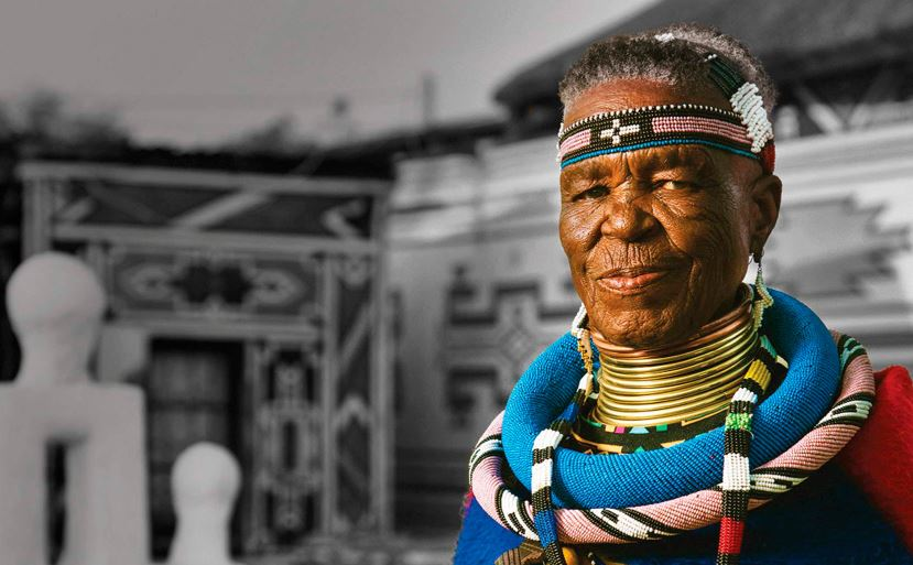 Esther Mahlangu Becomes First South African Commissioned