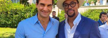 Maps Maponyane Roger Federer