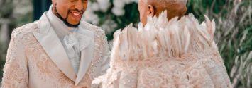 Somizi Mohale Wedding Photos