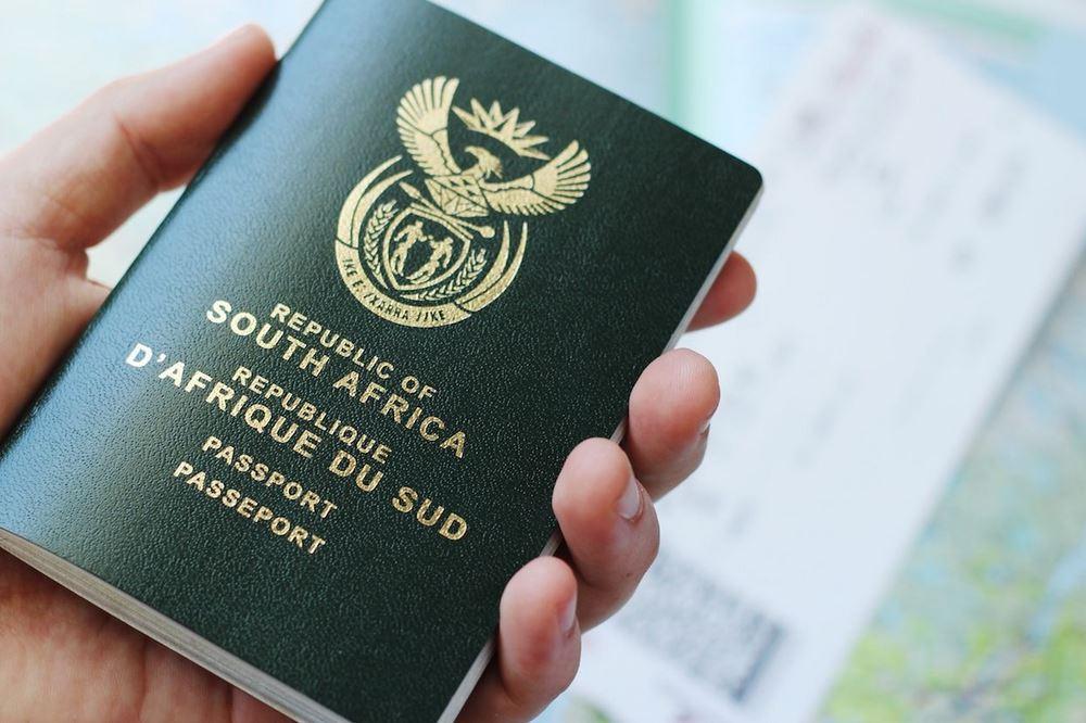 South Africa Passport strength 2